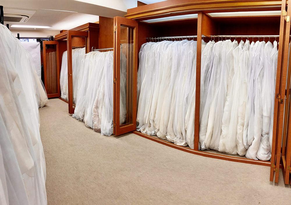 400着を超える豊富な衣裳